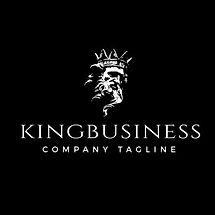 KING BUSINESS LOGOTYPE