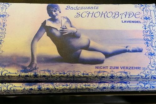 """Badezusatz """"Schokobade Lavendel"""""""