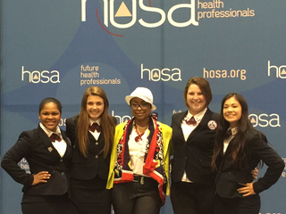 Belle Chasse HOSA at NLC!