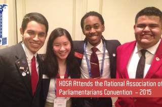 HOSA Attends the NAP Convention