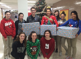 Belle Chasse HOSA Adopts Christmas Angel