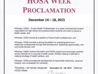 Lafayette High HOSA Week