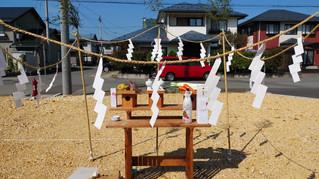 山辺町に建設する建売住宅の地鎮祭を行いました