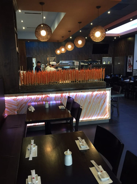Sushi Osawa dining room