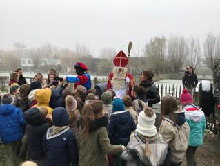Fotoalbum: Sinterklaas op de Nark