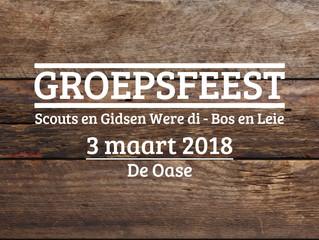 Groepsfeest 2018