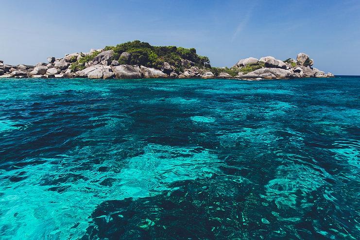 Felsige Insel