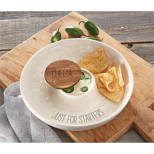 dip snack tray