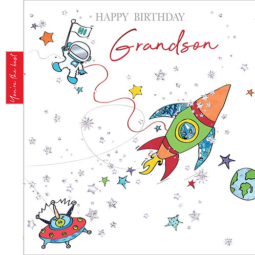ITG-009 - Grandson Birthday MALE (PACK 6)