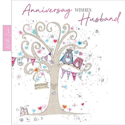 ITG-055 - Husband Anniversary  WEDDING (PACK 6)