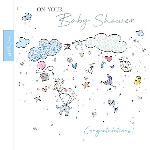 ITG-063 - Baby Shower Boy BIRTH MALE (PACK 6)