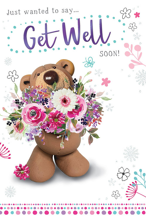 CLA-5022 C50 - Get Well Soon OCCASIONS (PACK 6)
