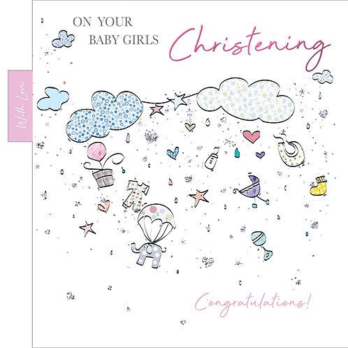 ITG-059 -Christening Girl BIRTH FEMALE (PACK 6)