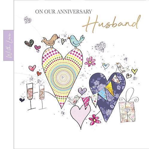 ITG-053 - Husband Anniversary  WEDDING (PACK 6)