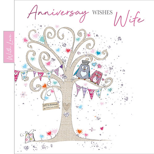 ITG-056 - Wife Anniversary  WEDDING (PACK 6)