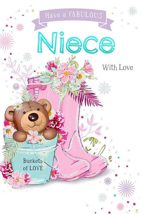 CLA-5003 C50 - Niece Birthday FEMALE (PACK 6)