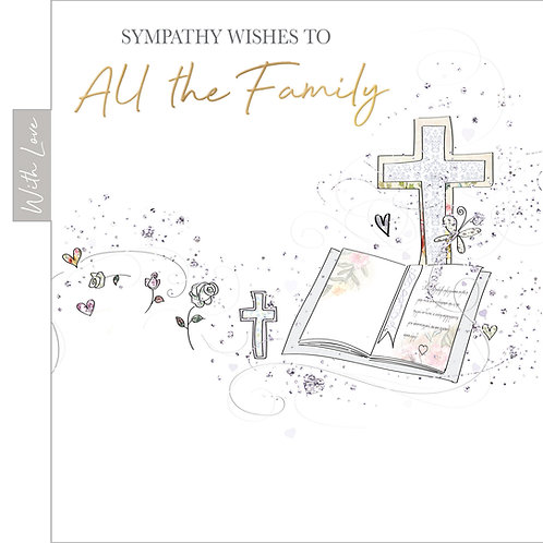 ITG-069 - Sympathy to all the Family  OCCASIONS (PACK 6)