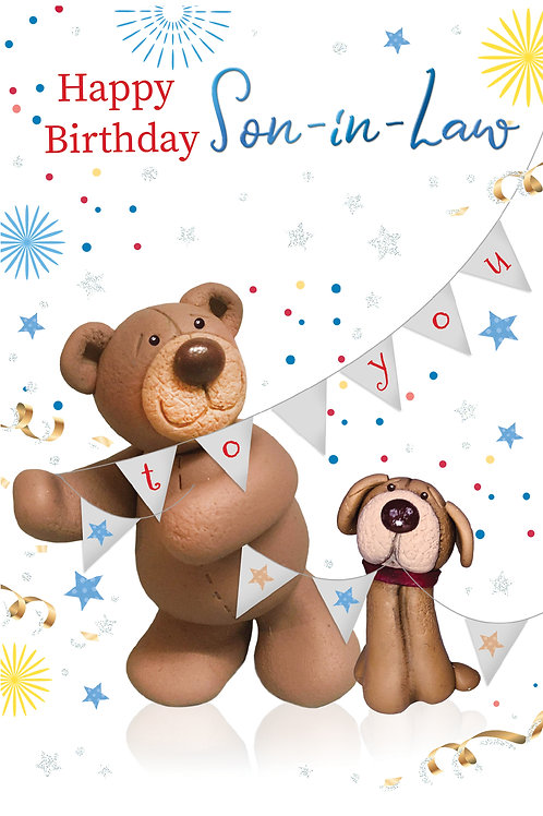 CLA-5018 C50 - Son-In-Law Birthday MALE (PACK 6)