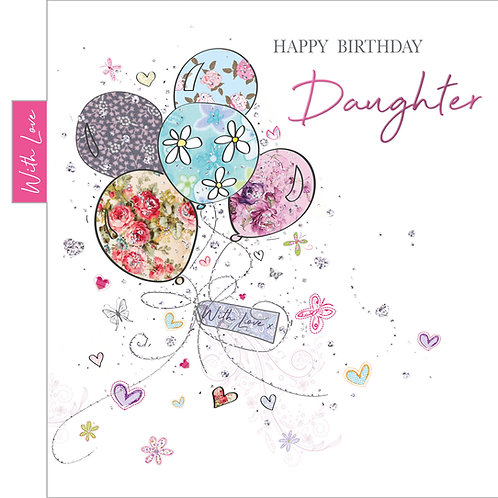 ITG-027 - Daughter Birthday FEMALE (PACK 6)