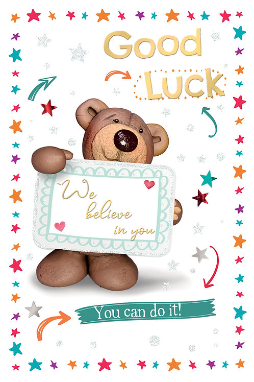 CLA-7525 C75 - Good Luck OCCASIONS (PACK 6)