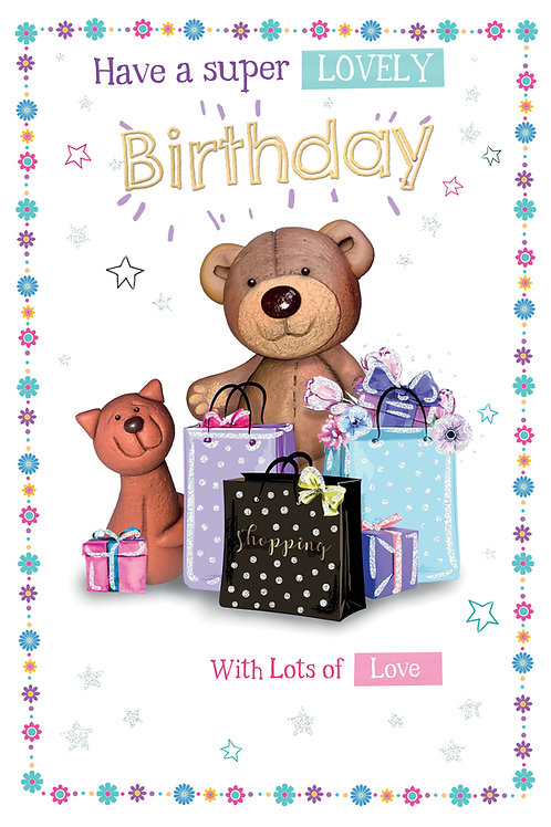 CLA-7513 C75 - Open Birthday FEMALE (PACK 6)