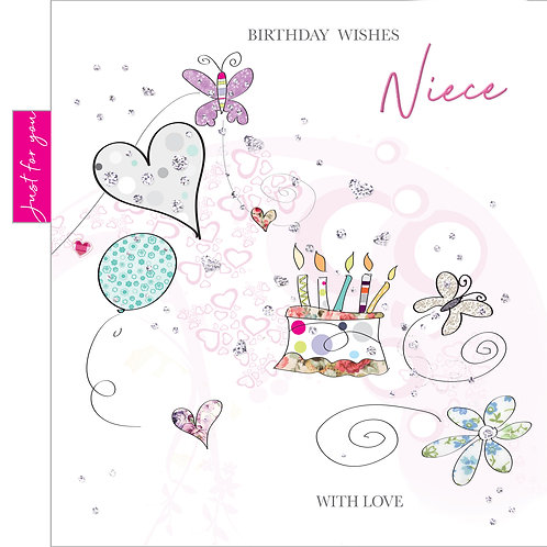 ITG-032 - Neice Birthday FEMALE (PACK 6)