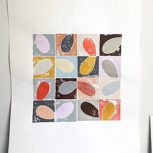 Tile Painting - Wings
