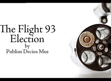 Pithy Post: The Flight 93 Election Repost