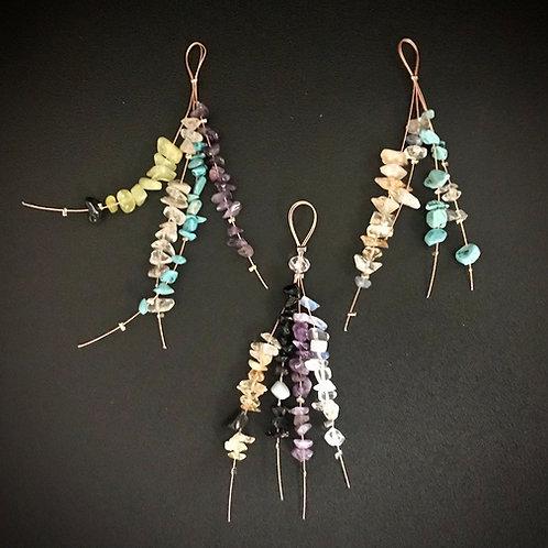 Energizing Kites with semi precious stones