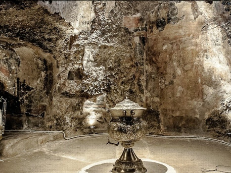 Athens must visit site: St Marina A church resting on a pre-Christian grotto