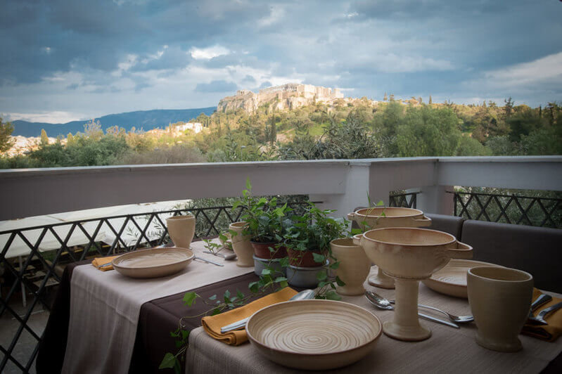 Athens Walk &Ancient Greek Lunch PRIVATE
