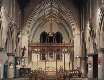 St Lukes Church before redesign