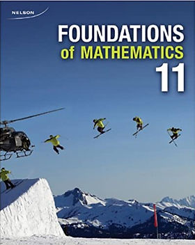 Nelson Foundations for College Math 11_.