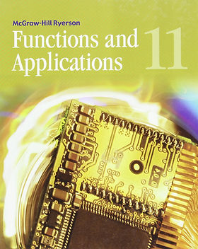 Grade 11 Functions & Applications Cover