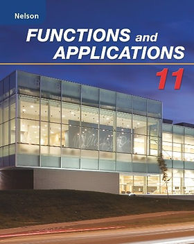 Nelson Grade 11 Functions & Applications