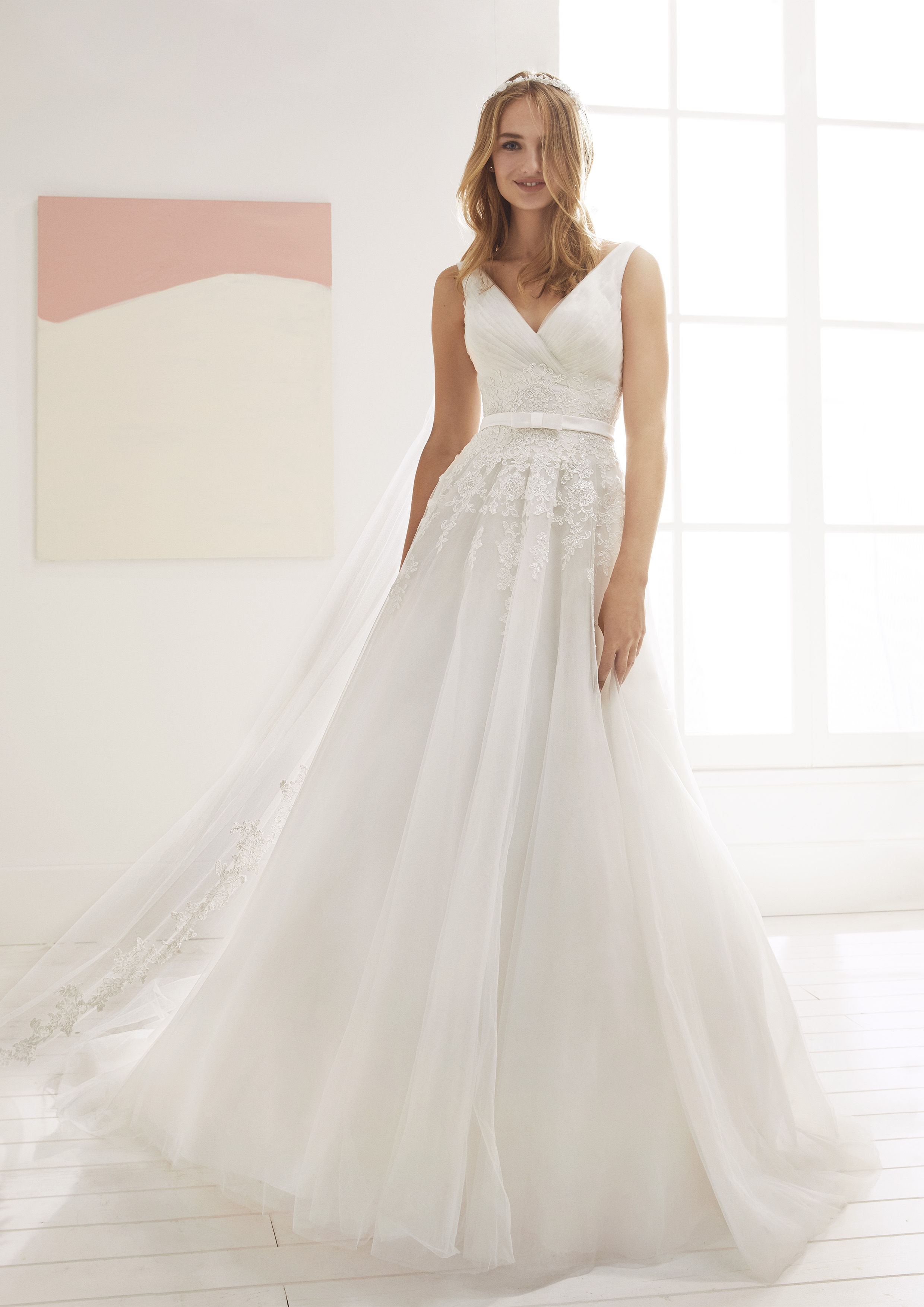 Pronovias White One Orotava.. £1,050