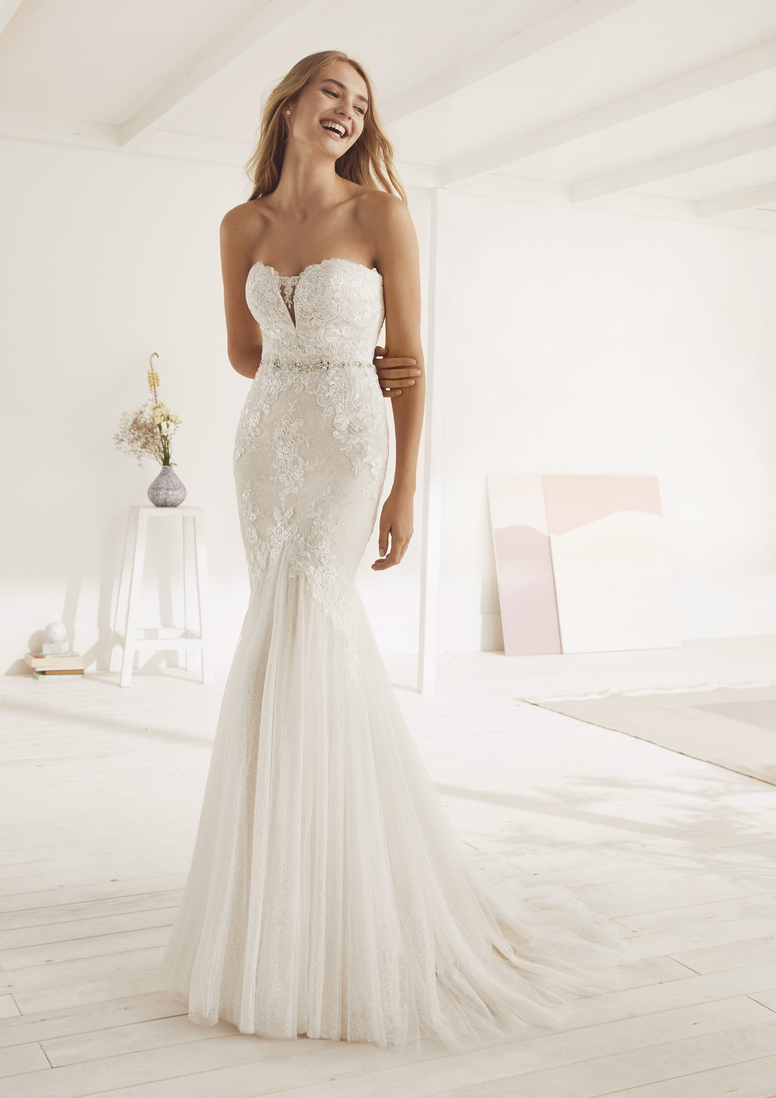 Pronovias White One Oxana £1,100