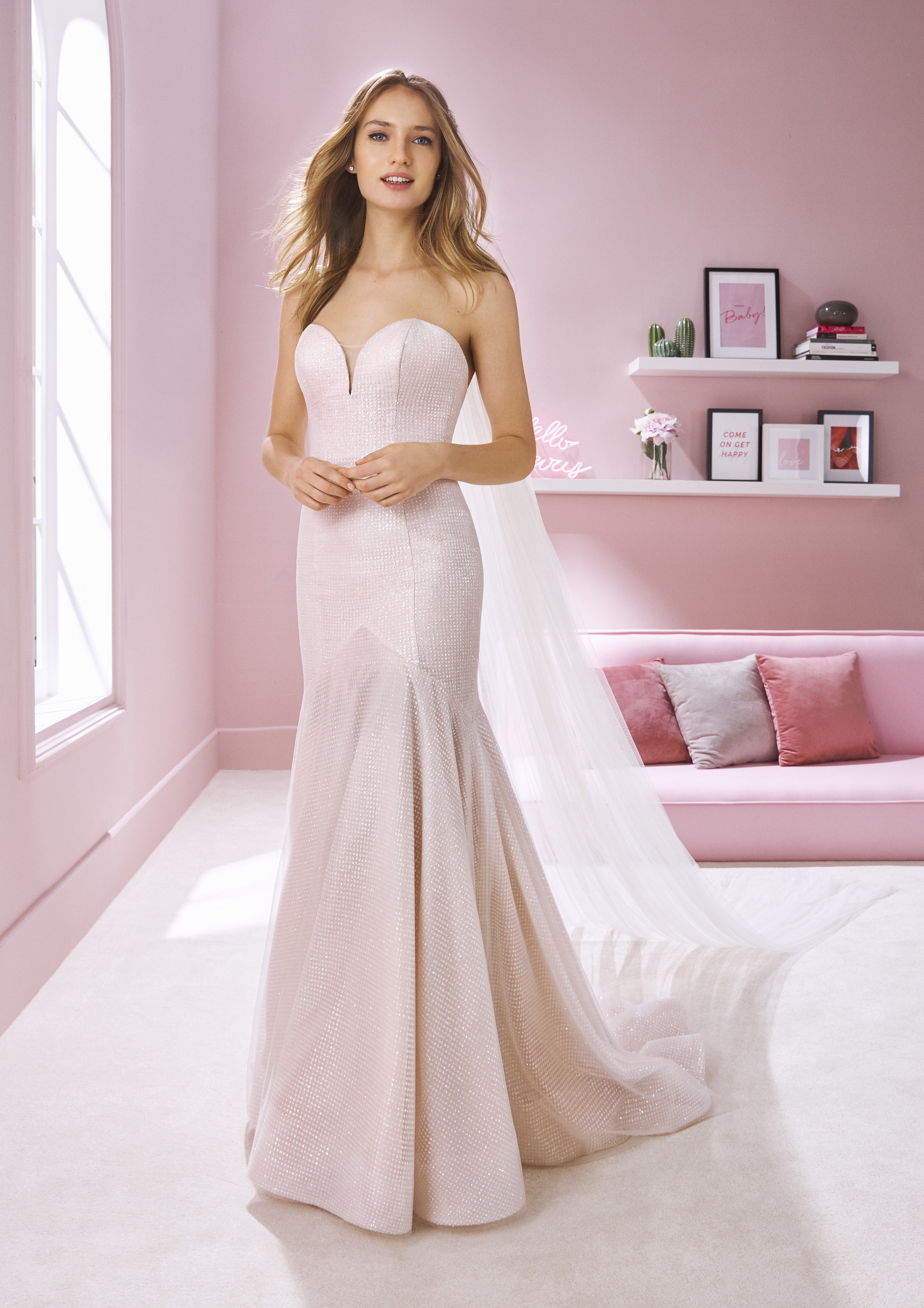 Pronovias White One Debbie