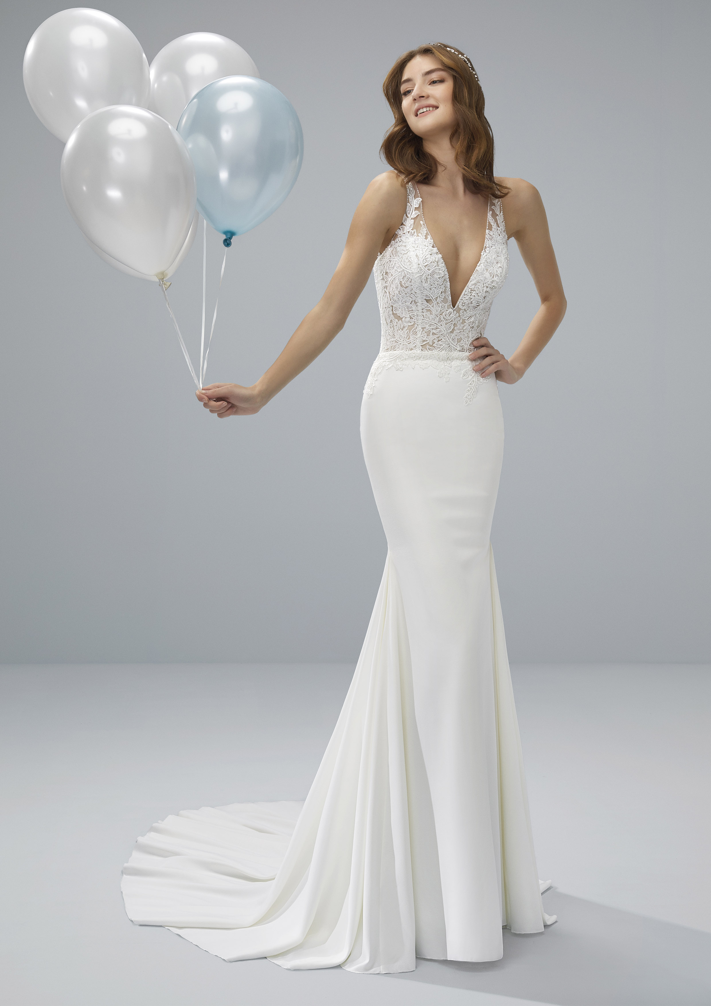 Pronovias White One Orotina £1,250