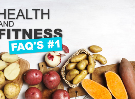 HEALTH AND FITNESS FAQ's #1: EVIL CARBS AND SORE BACKS?