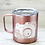 Thumbnail: Rose Gold Photographer Stainless Steel Coffee Mug -Thank you gift