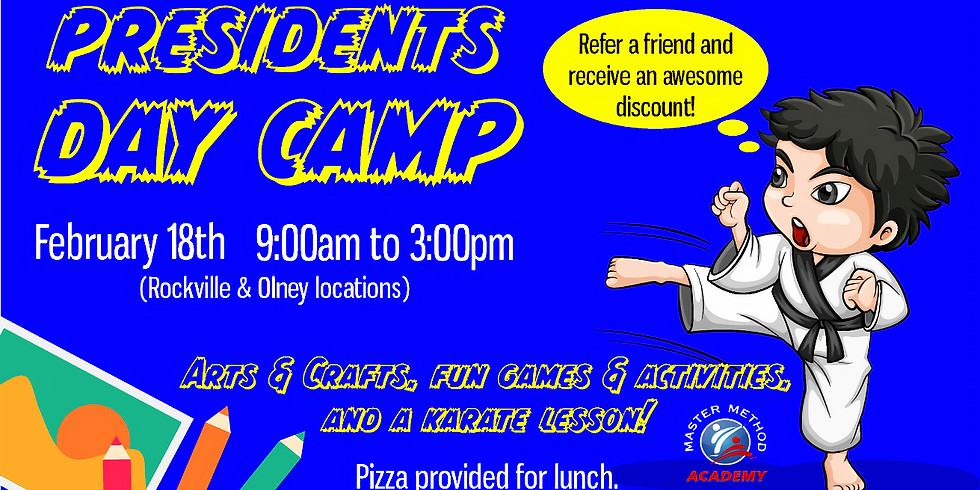 Presidents Day Camp