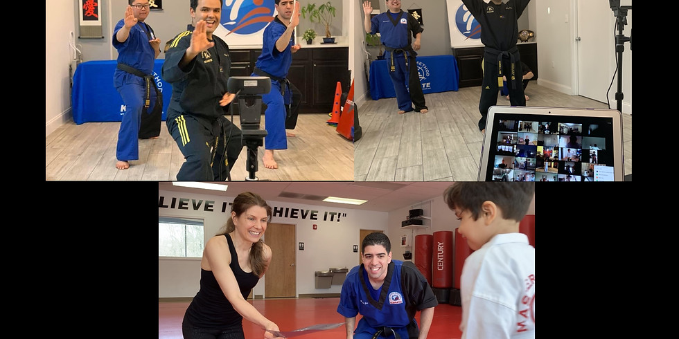 4 Weeks of Online Martial Arts Classes for only $49.00