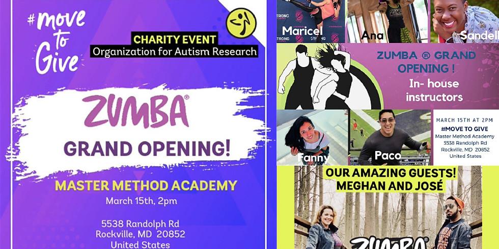 ZUMBA grand opening & fundriser!!