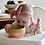 Thumbnail: Pink - Avanchy Bamboo Suction Baby Bowl + Spoon