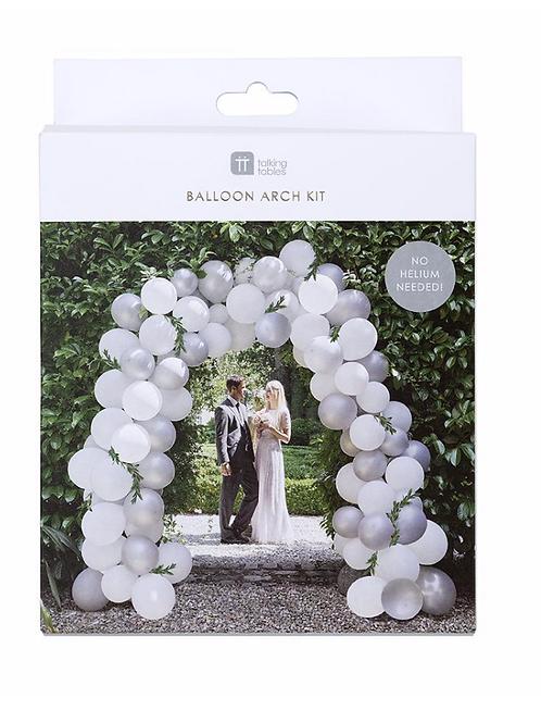 Modern Romance Balloon Arch