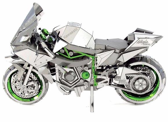 3D Metal Earth Model Toll Kits-ICONX Kawasaki Ninja H2R