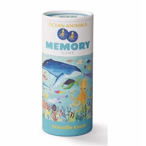 Canister Memory Game-Ocean