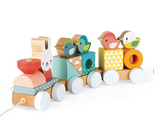 Pure Train ( Wood )