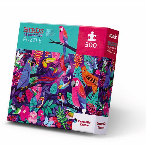 500-pc Boxed-Birds of Paradise